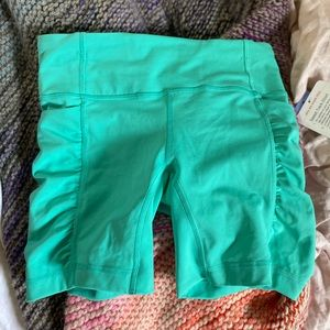 New with Tags! Lululemon speed track shorts